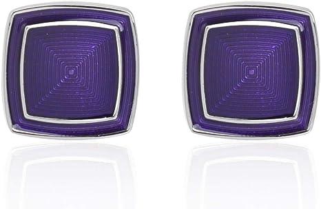 WYLCDGEOO Camisa Gemelos Traje de Boda Wild Purple para Hombre Camisa Business Gemelos, Púrpura: Amazon.es: Deportes y aire libre