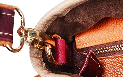 Heshe color Body Purse Handbag Clearance On Hobo Womens Tote Multi Cross Shoulder 8 Colorful Bag q5PHI