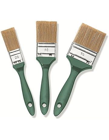 10 St/ück PROFI Fl/ächenstreicher 10cm Flachpinsel Lackier Lasur Lack Pinsel Streicher Lasurpinsel