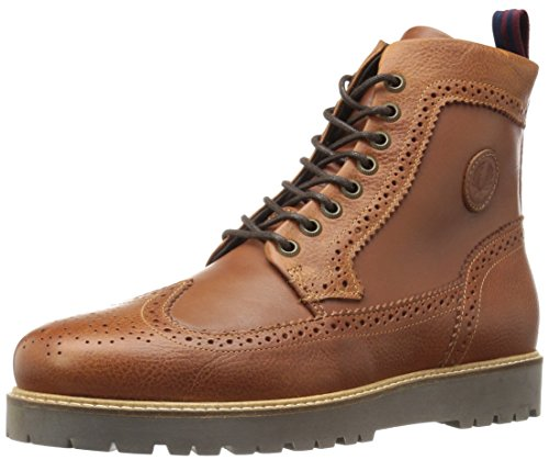 Fred Perry Heren Northgate Laars Leer Chelsea Boot Tan / Pure Chocolade