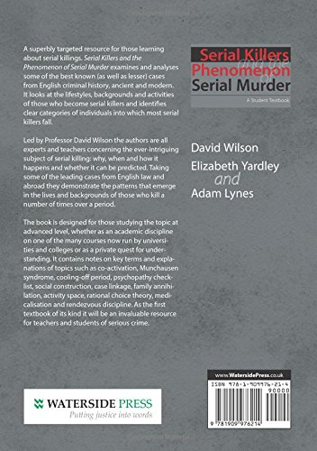 thesis for research paper on serial killers A 6 page research paper on the serial killer john wayne gacy who bears the dubious distinction of being america's most successful serial killer with a death total of 33 young males  all papers and essays are sold as research to assist students in the preparation of their own paper dissertationsandthesescom is not to be plagiarized.