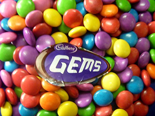 Cadbury Gems Little Button of Chocolate Covered with Colorful Candy Shell Pack of 200gm (7.0oz)