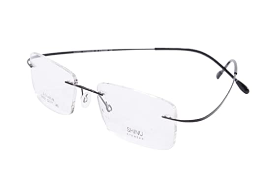 b884de4061b1 SHINU Online Optical Shop, Ultra-lightweight Titanium Eyewear Frame,  Filiing Prescription Glasses-