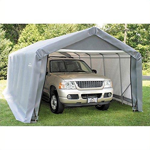 Shelterlogic 12 X 20 X 8 Ft Instant Garage Heavy Duty Canopy Best