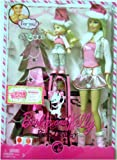 Barbie and Kelly Pink Holiday Barbie Dolls Set, Baby & Kids Zone