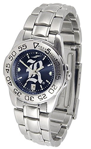 University Rice Watch Owls (Rice University Owls Ladies Stainless Steel Dress Watch)