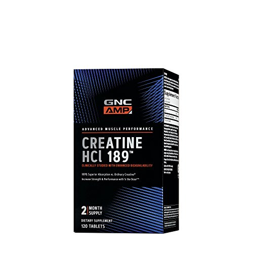 GNC AMP HCl 189, 120 Tablets (Male Power Tabs 120)