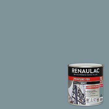 Renaulac Peinture Fer Gris Mercure Garantie 10 Ans 05l 8m²