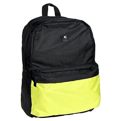 Etnies Unisex-adults Entry Black/Green Backpack - One (Etnies Bag)