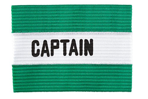 (Kwik Goal Adult Captain Arm Band, Green)