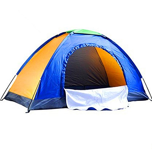 Kids Play Tunnels Mountaineering Tent Single Silver Plastic Tent Windproof Sunscreen Waterproof Tent Suitable for Outdoor Sportsmen Pop Up Tunnel Gift Toy by Sviper (Image #3)