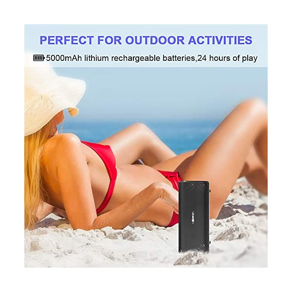 AY-Portable-Wireless-Bluetooth-42-Speakers-30W-with-HD-Stereo-Sound-Extra-Bass-Waterproof-IPX7-TWS-Technology-Built-in-Mic-24H-Playback-Perfect-for-the-Beach