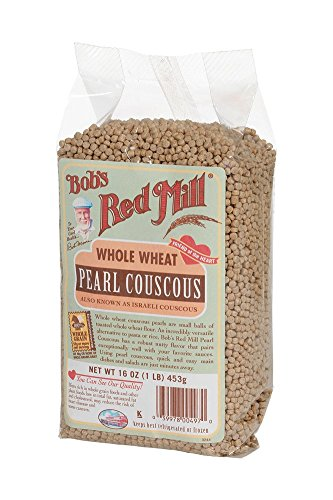 Bobs Red Mill Whole Wheat Pearl Couscous, 16 Ounce (Pack of4)