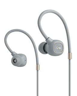 AUKEY ワイヤレスイヤホン Bluetoothイヤホン 最新Bluetooth5.0+EDR Hi-Fi高音質 ハイブリッドドライバー搭載 AAC aptX aptX LL低遅延対応 IPX6防水 次世代規格USB-C充電 8時間再生可能 収納ポーチ付きSiri対応 マイク付き Key Series EP-B80 浅グレー