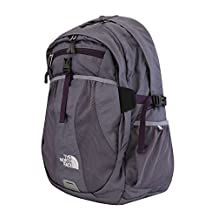The North Face Women Recon laptop backpack book bag 17X14X4 PURPLE SAGE