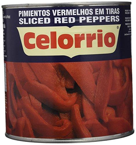 Celorrio 13-13005 Pimiento Rojos En Tiras Extra Lata - 3 kg: Amazon.es: Alimentación y bebidas