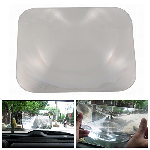 EX1 Car Fresnel Lens Rear View Mirror Wide Angle Parking Blind Spot