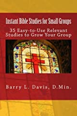 Instant Bible Studies for Small Groups Paperback