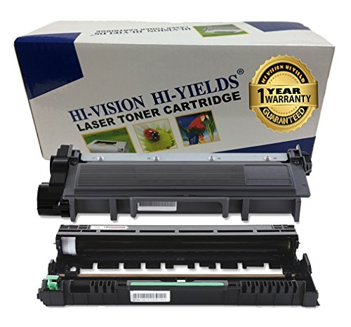 HI-VISION® Compatible Brother High Yield TN660+DR630 Toner,Drum Unit Replacement for DCP-L2520DW,L2540DW,HL-L2300D,L2305W,L2320D,L2340DW,L2360DW,L2380DW,MFC-L2700DW,L2705DW,L2720DW,L2740DW Printer