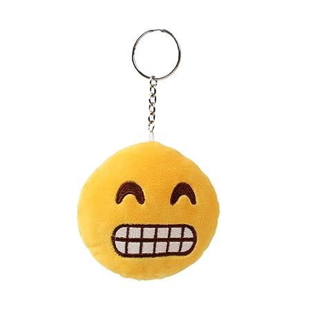 TE-Trend Llavero Emoji Emojicon 10 cm con anilla Laughing ...
