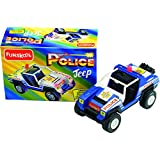 Funskool Police Jeep, Multi Color