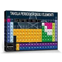 Scuola - Tavola Periodica degli Elementi Stampa su Tela (120 x 80cm)