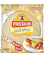 Mission Foods Whole Wheat 8 Wraps,384.0 g