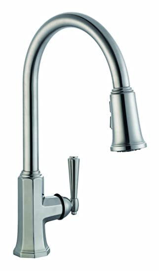 Delightful Design House 525683 Barcelona Kitchen Faucet With Pullout Sprayer, Satin  Nickel Part 12