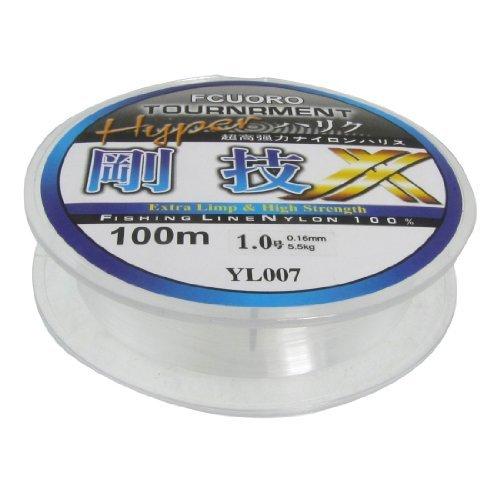 (Dimart 1.0# 0.16mm Diameter 100M Thread 5.5Kg Fishing Line Spool)