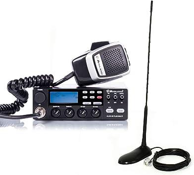 Paquete Midland CB Radio Alan 48 Multi Plus B 4W 12V, 40 ...