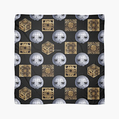 Hellraiser Chibi Pinhead & Puzzle Boxes Multi-Purpose Scarf, Shawl, Wrap, Table Cloth (2)
