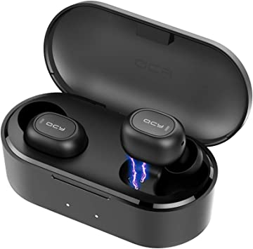 Amazon Com Tepoinn Wireless Earbuds Bluetooth 5 0 True Wireless Earphones With Microphone One Step Pairing 35h Playing In Ear Bluetooth Headphones Sports Headset Black Electronics