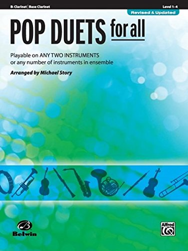 - Pop Duets for All: B-flat Clarinet, Bass Clarinet (Instrumental Ensembles for All)