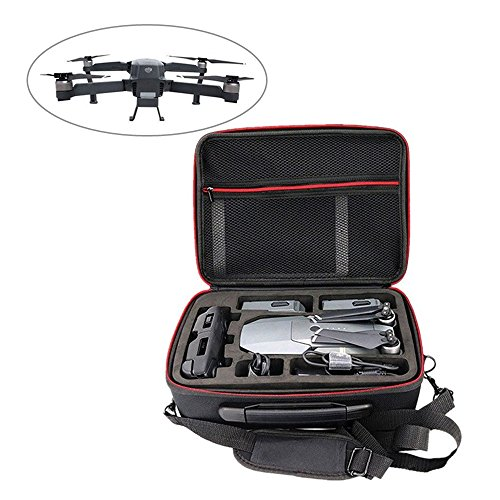 LvBo DJI Mavic Pro Case, Carrying case EVA Hardshell Portable Travel Bag Shoulder and Handheld Bag for DJI Mavic Pro Drone