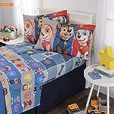 Mikash New Soft Kids Bedding Soft Microfiber Sheet Set, Full Size 4 Piece Pack Blue/Grey Design | Style 84598060