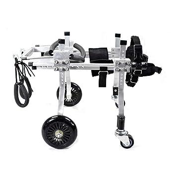 Silla de ruedas ajustable para mascotas Silla de ruedas para mascotas, Silla de ruedas ajustable para ...