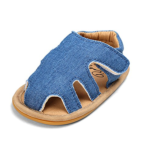 HLM Baby Shoes Sandals for Girl Boys Babies Toddlers Size 6-12 12-18 0-6 5.5 Months