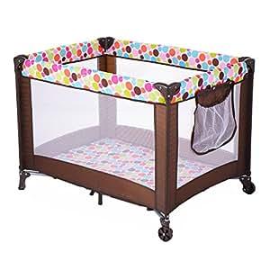 Amazon.com : Costzon Play Playard Baby Bassinet Travel