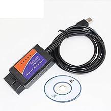 ELM327 USB Interface OBDII OBD2 Diagnostic Auto Car Scanner Wired