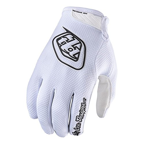 2017 Troy Lee Designs Air Gloves-White-L