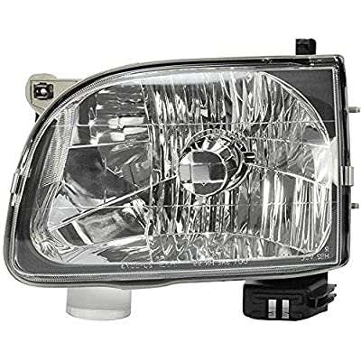 Left Driver Side Head Light Assembly for 2001-2004 Toyota Tacoma - Parts Link # TO2502136 OE # 8111004110 - Bulb is included: Automotive