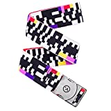 Arcade Belt Co. Glitch Belt, Black/White, One Size