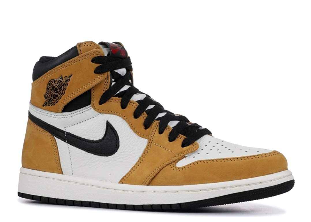 new product 2976a ddec9 Amazon.com   Nike Men s Air Jordan 1 Retro JoJo Golden Harvest Black-Sail  555088-700 (Size  10.5)   Basketball