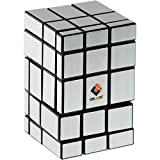 CubeTwist Siamese Mirror Cube - Silver Labels (Difficulty 10 of 10)