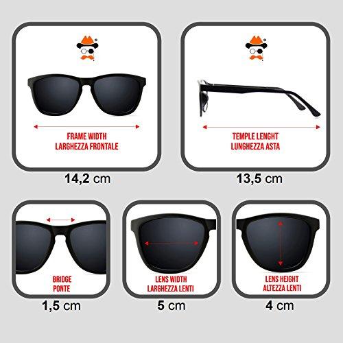 Retro de FEMME la mode VINTAGE SWEET Kiss rectangulaire Lunettes mod de forme Noir CORNÉE soleil de superbe T55fYw