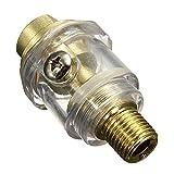 """Compressed air oiler - TOOGOO(R)Compressed air oiler oil lubricator 6mm compressed air mist oil 1/4 """""""
