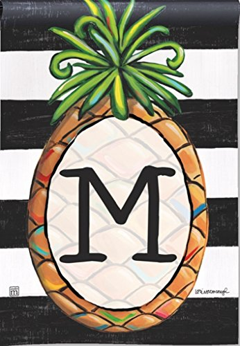 BreezeArt Southern Welcome Monogram 'M' Garden Flag 31384M (Breeze Art)