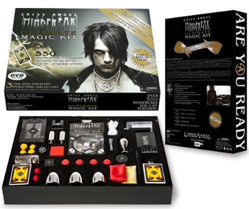 Criss Angel Ultimate Magic Kit Black by magic Geek