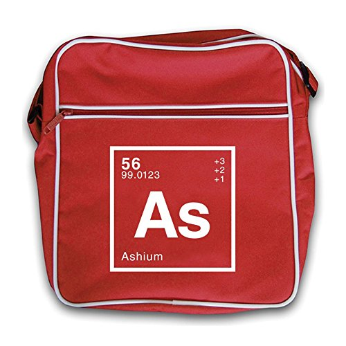 Red Periodic Element Ash Dressdown Bag Flight Retro pqT4g