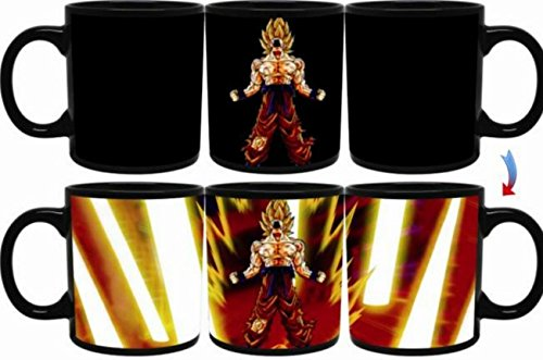 Dragon Ball Z Goku Heat Reactive Super Saiyan SSJ Limit Breaker Legendary Edition Mug For A Limited Time Only